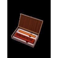 صندوق عود ند بتصميم كلاسيكي لون بني جذاب